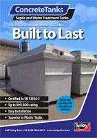 Concrete Septic Tanks Turley Bros