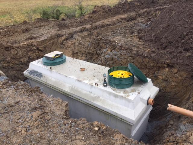 Waste Water Treatment Tanks Cheltenham Turley Bros