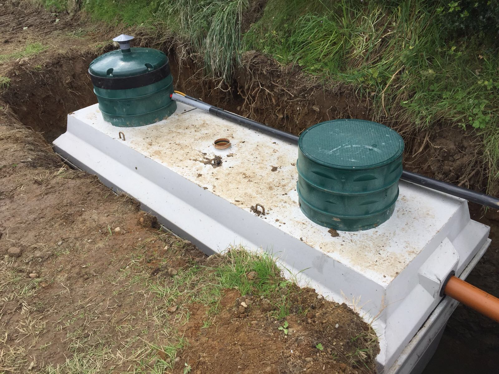 Waste Water Treatment Tanks Turley Bros