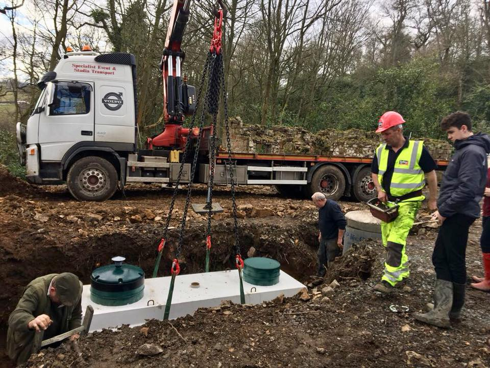 Best Domestic sewage Treatment Plant UK Turley Bros