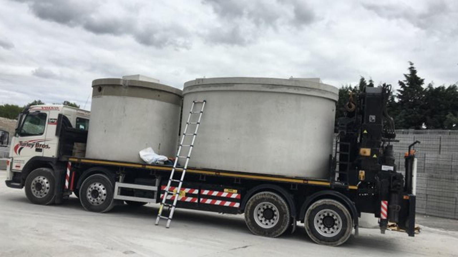 Commercial Waste Water Treatment Tank Liverpool Turley Bros