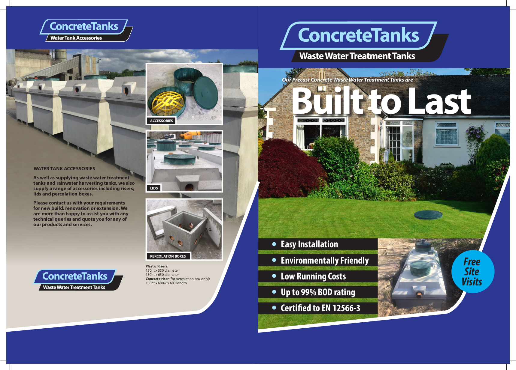 Concrete Septic Tanks Turley Bros